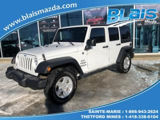 Used 2015 Jeep Wrangler 4 RM, 4 portes, Sport for sale in Ste-Marie, QC