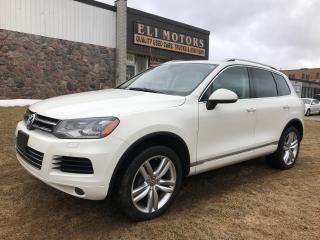 Used 2011 Volkswagen Touareg Highline.AWD.NAVI.PANO ROOF.REAR PARK SENSORS for sale in North York, ON