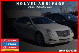 Used 2010 Cadillac CTS Sièges Ventilés for sale in Drummondville, QC