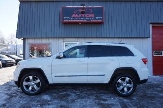 Used 2011 Jeep Grand Cherokee Overland V-6 3.6l for sale in Lévis, QC