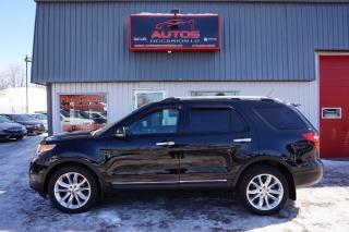 Used 2012 Ford Explorer Ltd Awd V-6 3.5 L 7 for sale in Lévis, QC