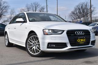 Used 2016 Audi A4 S-LINE - LEATHER - SUNROOF - BLUETOOTH -CERTIFIED! for sale in Oakville, ON