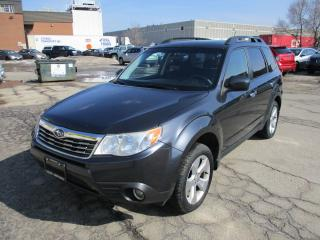 Used 2010 Subaru Forester X Touring~5 SPEED~NAV.~HEATED SEATS~SUNROOF for sale in Toronto, ON