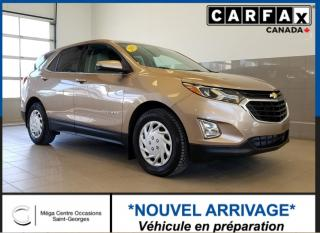 Used 2018 Chevrolet Equinox Lt / 1.5l Turbo for sale in St-Georges, QC