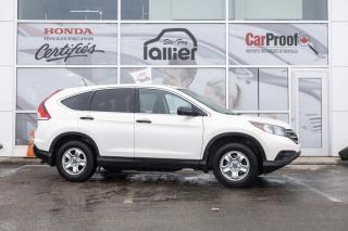 Used 2014 Honda CR-V LX ***GARANTIE 10 ANS/200 000 KM*** for sale in Québec, QC