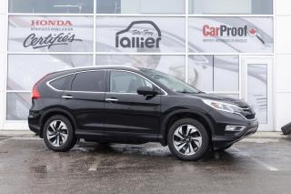 Used 2015 Honda CR-V TOURING AWD ***GARANTIE 10 ANS/200 000 K for sale in Québec, QC