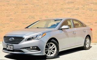 Used 2016 Hyundai Sonata 2.4L SE| TEXT US|647.678.7778| BLUETOOTH|BACKUP CAMERA|HEATED MIRRORS|HEATED SEATS. for sale in Mississauga, ON