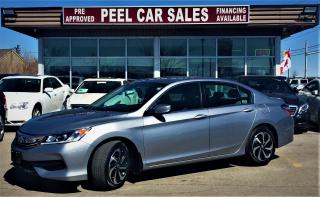 Used 2017 Honda Accord LX|REARVIEW|ALLOYS for sale in Mississauga, ON