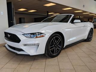 Used 2018 Ford Mustang Convertible *GPS via Apple Carplay/Andro for sale in Pointe-Aux-Trembles, QC