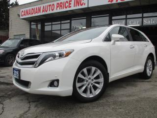 Used 2015 Toyota Venza LIMITED-AWD-NAV-CAM-PANO-ROOF-SENSORS for sale in Scarborough, ON