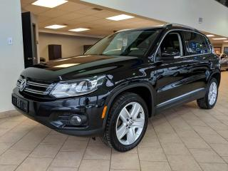 Used 2016 Volkswagen Tiguan 4motion Toit Pano Cuir Phares DEL for sale in Pointe-Aux-Trembles, QC