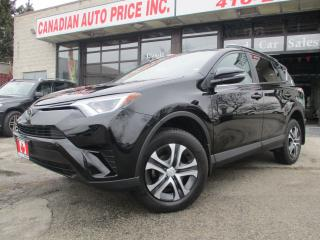 Used 2017 Toyota RAV4 LE-CAMERA-BLUETOOTH-HEATED& COOLED SEATS-WARRANTY for sale in Scarborough, ON
