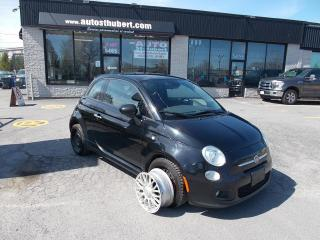 Used 2014 Fiat 500 Sport for sale in St-Hubert, QC