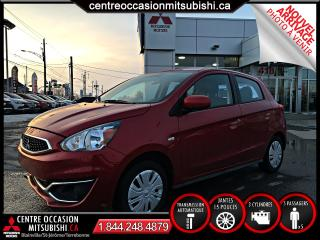 Used 2017 Mitsubishi Mirage ES AUTO TRES BAS KILOMÉTRAGE 1 SEUL for sale in Blainville, QC