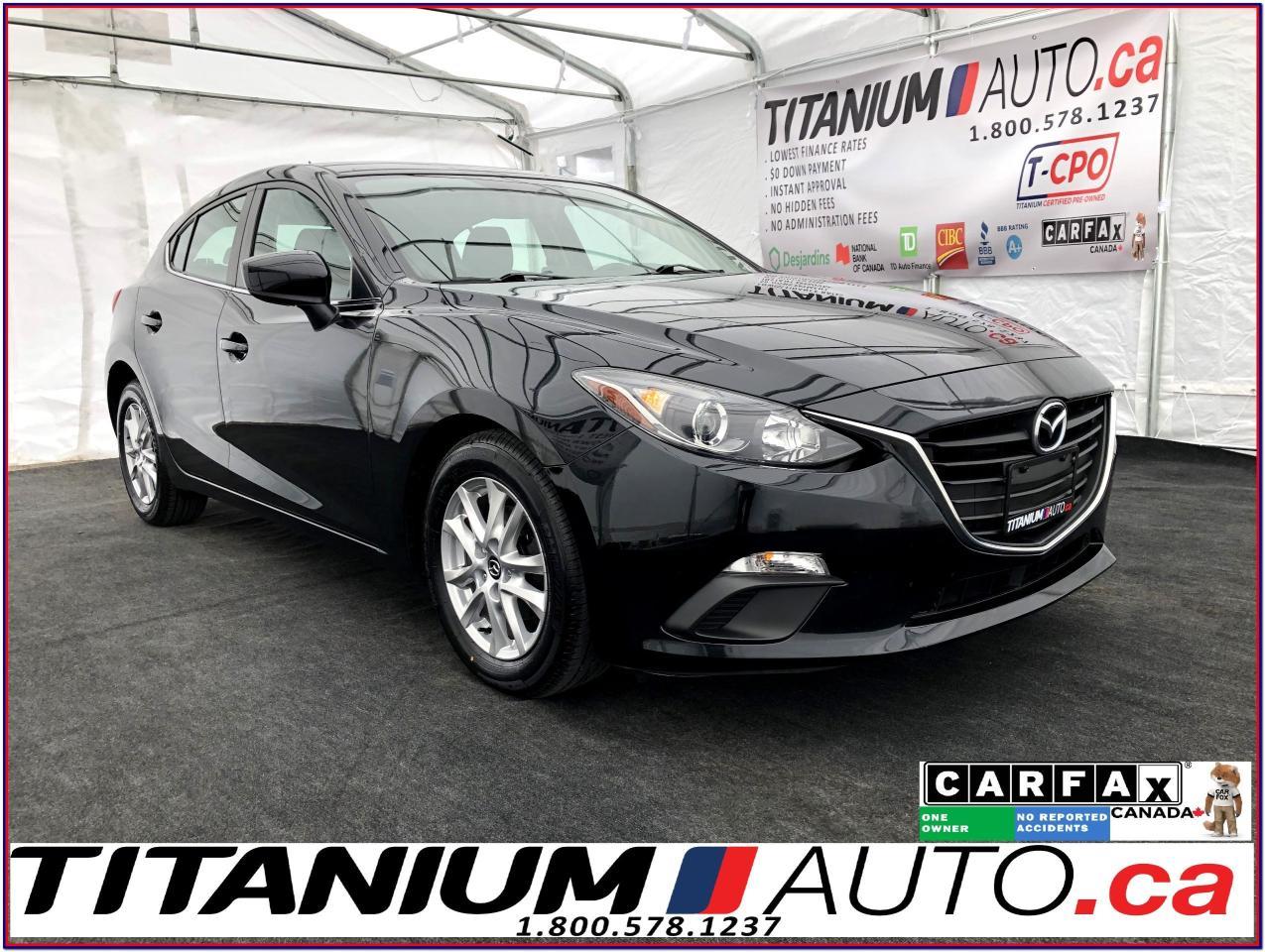 2015 Mazda MAZDA3 GS SPORT HatchBack-GPS-Camera-Heated Seats+Bluetoo