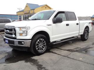 Used 2015 Ford F-150 XLT SuperCrew 4X4 5.0L 6.5ft Box for sale in Brantford, ON