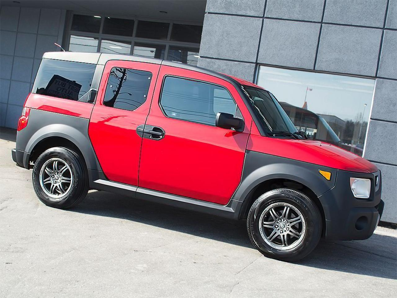 Photo of Red 2005 Honda Element