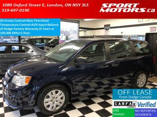 Used 2015 Dodge Grand Caravan Cruise Control+New Tires+A/C+Dual Temp Control for sale in London, ON