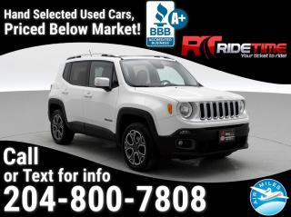 Used 2016 Jeep Renegade Limited for sale in Winnipeg, MB