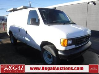 Used 2006 Ford E350 Vans 2D Cargo VAN for sale in Calgary, AB