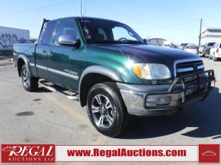 Used 2001 Toyota Tundra TRD 4D Access CAB V8 4WD for sale in Calgary, AB
