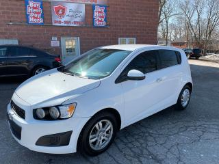 Used 2013 Chevrolet Sonic LT/1.8L/SAFETY INCLUDED for sale in Cambridge, ON