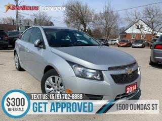 Used 2014 Chevrolet Cruze 1LT | ANY CREDIT WELCOME | APPLY NOW for sale in London, ON