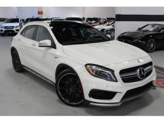 Used 2015 Mercedes-Benz GLA GLA 45 AMG 4MATIC   MB WARRANTY   FULLY LOADED for sale in Vaughan, ON