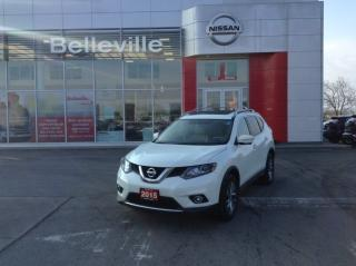 Used 2015 Nissan Rogue SL AWD 1 OWNER LOCAL TRADE for sale in Belleville, ON