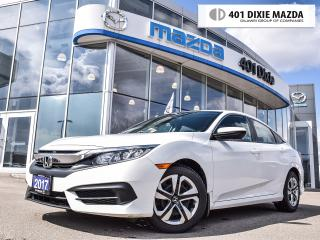 Used 2017 Honda Civic LX|NO ACCIDENTS|FINANCE AVAILABLE|PREVIOUS RENTAL for sale in Mississauga, ON
