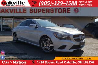 Used 2016 Mercedes-Benz CLA-Class 250 4MATIC | LEATHER | BLUETOOTH | PADDLE SHIFT for sale in Oakville, ON