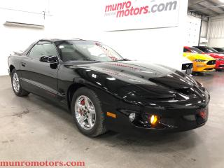 Used 2002 Pontiac Firebird Formula W66 T Tops Chrome Wheels for sale in St. George Brant, ON