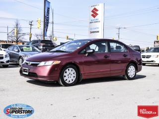 Used 2007 Honda Civic DX-G for sale in Barrie, ON