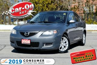 Used 2008 Mazda MAZDA3 GS SPORT LOW KM A/C PWR GRP ALLOYS for sale in Ottawa, ON