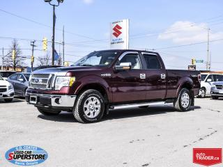 Used 2010 Ford F-150 Lariat Super Crew 4x4 ~Heated Leather for sale in Barrie, ON
