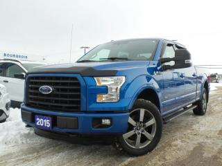Used 2015 Ford F-150 XLT 3.5L V6 NAVIGATION HEATED SEATS for sale in Midland, ON
