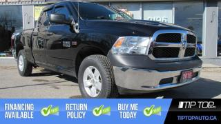 Used 2015 RAM 1500 ST ** Brand New Tires, 5.7L V8, Clean CarFax ** for sale in Bowmanville, ON