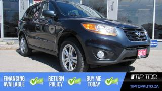 Used 2011 Hyundai Santa Fe Limited ** 4 New Tires, AWD, Leather, Heated Seats for sale in Bowmanville, ON
