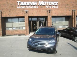 Used 2012 Honda CR-V TOURING | LEATHER | SUNROOF | NAVIGATION | REAR CAM for sale in Mississauga, ON
