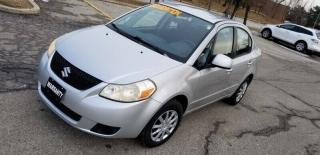 Used 2008 Suzuki SX4 4dr Sdn for sale in Mississauga, ON
