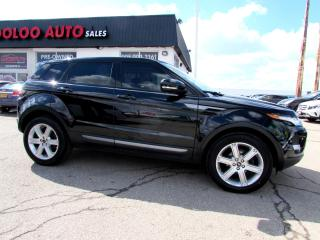 Used 2013 Land Rover Evoque Pure Plus REAR VIEW CAMERA CERTIFIED 2YR WARRANTY for sale in Milton, ON