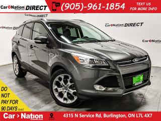 Used 2016 Ford Escape Titanium| 4X4| NAVI| LEATHER| PANO ROOF| for sale in Burlington, ON