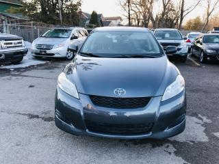 Used 2010 Toyota Matrix Base 4-Speed AT for sale in Brampton, ON