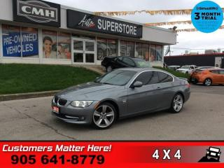 Used 2012 BMW 3 Series 328i xDrive  PREM/TECH-PKGS AWD NAV ROOF LEATH P/SEATS for sale in St. Catharines, ON