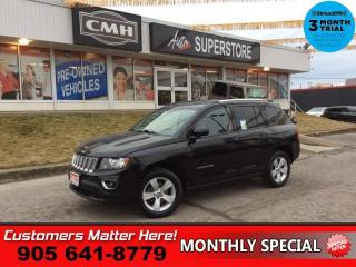 Used 2017 Jeep Compass Sport  4X4 LEATH ROOF PWR-SEAT HS BT HOME-REMOTE for sale in St. Catharines, ON