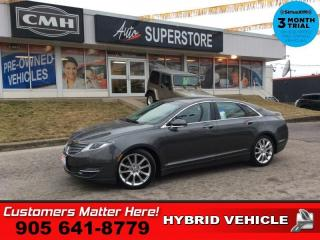 Used 2015 Lincoln MKZ Hybrid  RESERVE TECH ADAP-CC SELF-PARK LD CS NAVI for sale in St. Catharines, ON