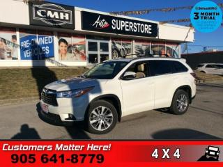 Used 2016 Toyota Highlander XLE  AWD NAV LEATH ROOF CAM 7-PASS REAR-AC for sale in St. Catharines, ON