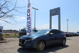 Used 2017 Mazda MAZDA3 Sport GT (A6) | Alloys, Fog Lights & Nav!! for sale in Whitby, ON