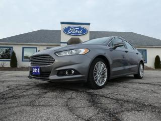Used 2014 Ford Fusion SE- AWD- LEATHER- SUROOF- NAVIGATION- 2.0L for sale in Essex, ON