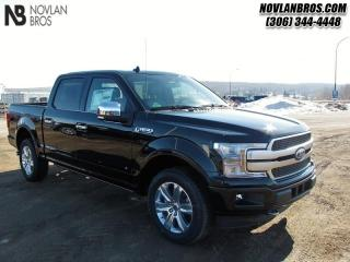 New 2019 Ford F-150 Platinum   - Navigation -  Leather Seats for sale in Paradise Hill, SK